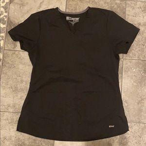 Grey's Anatomy scrub top worn once